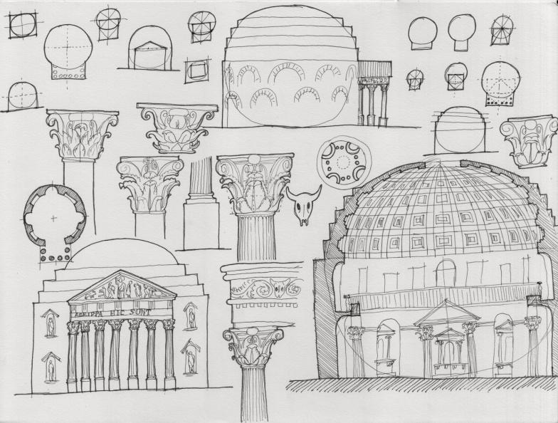 Panteón, 125 d.D.